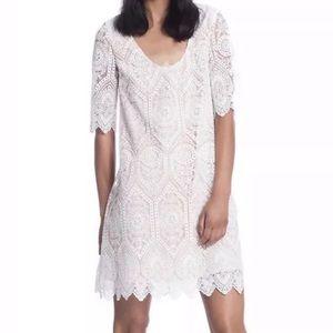 Plenty dresses by Tracy Reese white shift dress 10